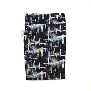 NWT LuLaRoe Cassie Metallic Shimmer Pencil Skirt